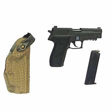 SEAL Team Six - Pistol w/ Holster - 1/6 Scale - BBI Action Figures