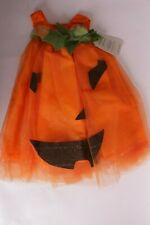 NWT Pottery Barn Kids Light UP Pumpkin tulle dress Halloween costume 3T