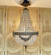 Korblüster Kronleuchter Leuchter Lampe Lüster Kristalllüster Empire Stil IG045