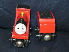 Thomas & Friends Wooden James and Tender Train