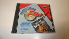 World Geography Mac/Windows Presentation Plus - Cracked case 2 cd lot