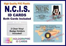 NCIS (Naval Criminal Investigative Service) ID Cards 2 CARDS INCLUDED NAVY ABBY
