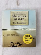 The Last Song by Nicholas Sparks (2010, CD, Abridged)