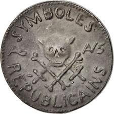 [#400480] Révolution Française, Siège de Lyon, Médaille