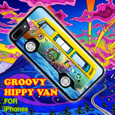 Hippy Van Groovy Peace for iPhone 5 5s 4 4s 5c 6 6 7 Plus iPod touch Pone Case