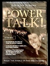 ~ AUDIO BOOK ON CD Anthony Robbins Power Talk! Self Help Educational