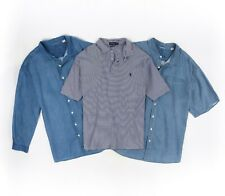 TOMMY BAHAMA Relax Polo RALPH LAUREN 3 Pc Blue Button Down Shirt Top Set 3XB LOT
