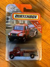 Matchbox Red Firetruck Fire Engine Freightliner M2 106