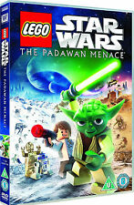 Star Wars Lego - The Padawan Menace (DVD, 2012) NEW SEALED FREE UK FAST POST