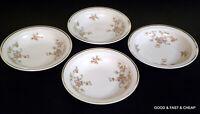 "4 pcs JOHANN HAVILAND china PICTURED E424  pattern ~ 4 Rim Berry Bowls ~ 5 3/4"""