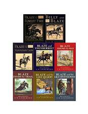 Billy and Blaze Collection Set 1-8 Childrens Books Fictional Series with Horses!