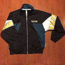Vintage Rare Fila Tech Windbreaker Full Zip Jacket 3M Men's Sz Small