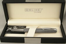 Online Germany Business Line Black Cisele & Chrome Rollerball Pen - New