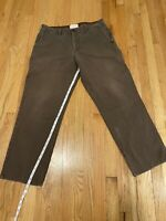 C.C. Filson Jeans Pants Canvas Mens 38x31 (See Measurements) Brown Work Wear