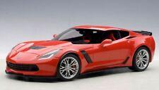 71262 AUTOart 1:18 Chevrolet Corvette (C7) Z06 (Red) model cars