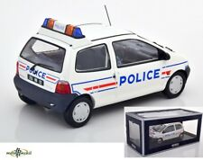 Renault Twingo Police White Diecast 1:18 Norev 185296