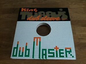 "King Tubby's Dub Sleeve , Dub Master , 10"" Dub Plate Sleeve From JA...Limited."