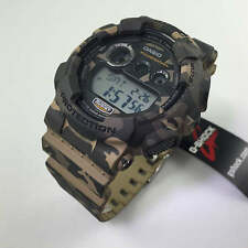 Brown And Green Camouflage Casio G-Shock Digital Watch GD120CM-5
