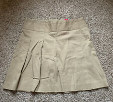 New Childrens Place Khaki Pleated School Uniform Skort Girls Size 12