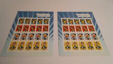 US Lot Of 2  #5149-5152 WONDER WOMAN Forever Stamp Sheets MNH POST OFFICE FRESH