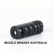 MUZZLE BRAKE EXTREME-3 M14X1 THREAD TIKKA T3 .30 CALIBRE 308,30-06,300WIN