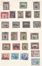 NORTH BORNEO 25  STAMPS MINT AND USED.