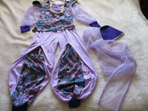 Jasmine Halloween Costume Harem Princess Adult Women OSFM Alladin Rubies Genie