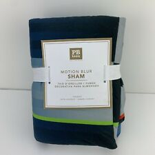 Pottery Barn Teen Motion Blur Standard Sham NEW With Tags