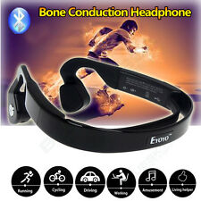 Water Resistant Bone Conduction Wireless Bluetooth Stereo Headphones For iPhone