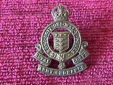 WW2 Royal Army Ordnance Corps RAOC Collar Badge Genuine British Army C/14