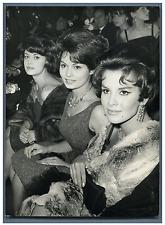 Anna-Maria Ferrero, Rosanna Schiaffino et Antonella Lualdi  Vintage silver print