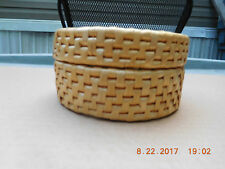 #51  SMALL ROUND BASKET WITH COVER