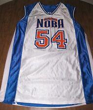 Noba Cadillac Square basketball jersey Xl Detroit #54 plystr Michigan reversible