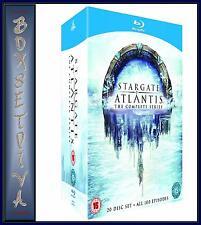 STARGATE ATLANTIS - COMPLETE SERIES  1 2 3 4 5 *BRAND NEW BLU-RAY BOXSET**