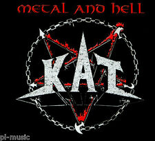 """= KAT - """" METAL & HELL """" / CD sealed digipack from Poland"""