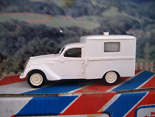 1/43 Record  (France) Peugeot 202 Ambulance Handmade Resin Model Car