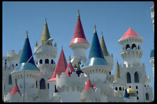 638049 Turrets On Excaliber Hotel Las Vegas Nevada A4 Photo Print