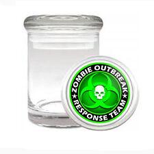 Odorless Air Tight Medical Glass Jar Zombie D 3 Walking Dead Outbreak Biohazard