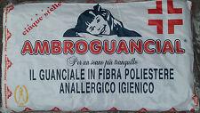Cuscino Guanciale Ambro in FIBRA Naturale Anallergico Comfort 80x50cm
