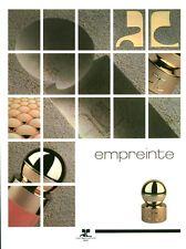 Publicité ancienne Parfum Empreinte Courrèges non parfumé