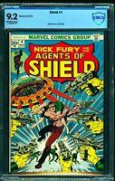Shield #4 CBCS NM- 9.2 Off White to White