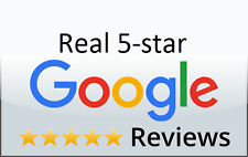 5x Google Reviews For Business Real 5 STAR Google Reviews For SEO LIFETIME SAFE