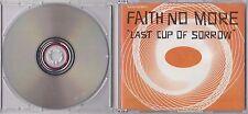 FAITH NO MORE - LAST CUP OF SORROW CD SINGLE 1997 SLASH