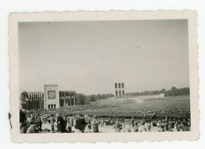 Amazing! Nurnberg RPT Rally MASSIVE Flags Thousands of Troops German Photo