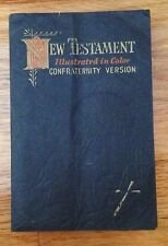 The New Testament Holy Bible Illustrated in color Confraternity Version 1952-57