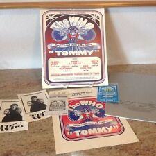 AMAZING COLLECTIBLE COLLECTION! THE WHO ROCK OPERA TOMMY - HUGE BUNDLE!!
