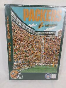 1994 NFL Green Bay Packers John Holladay Jigsaw Puzzle 513 Piece Lambeau Field