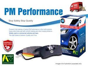 For LDV V80 K1 2013-On FRONT Disc Performance Brake Pads DB1982