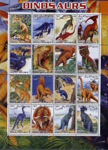 Somali-2001-Dinosaurus-1M/Sh. MNH**, SOM 017