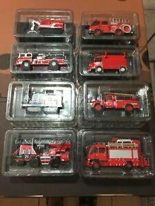 Lotto 8 modellini - Vigili del Fuoco - mezzi antincendio